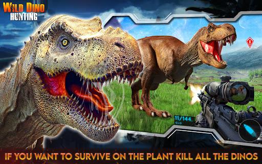 Wild Dino Hunt :Wild Animal Hunting Shooting Games  screenshots 1