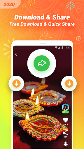 VClip - Ur Video Status, Indian Whatsapp Status  Screenshots 4