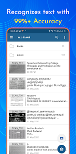 OCR Text Scanner : Extracts Text on Image (MOD APK, Pro) v2.1.4 2