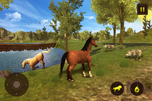 Horse Family Jungle Adventure Simulator Game 2020 screenshots 21