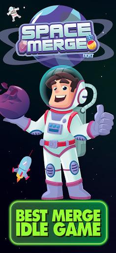 Space Merge: Galactic Idle Game 1.4.1 screenshots 1