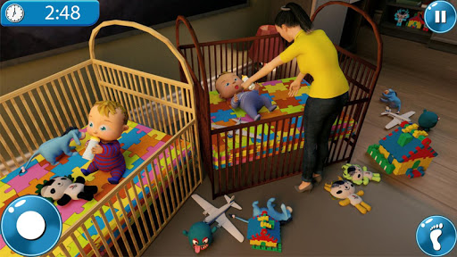 Real Mother Simulator 3D New Baby Simulator Games android2mod screenshots 2