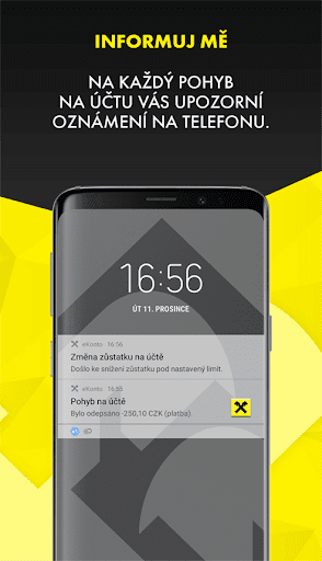 Mobilnu00ed eKonto Raiffeisenbank 3.9.2 Screenshots 5