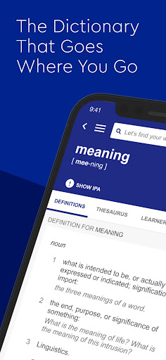 Dictionary.com English Word Meanings & Definitions 8.13.1 screenshots 1