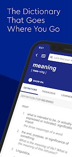 Dictionary.com English Word Meanings & Definitions Screenshot