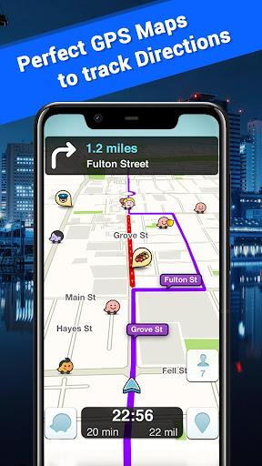 Offline Maps, GPS Navigation & Driving Directions 3.5 Screenshots 2