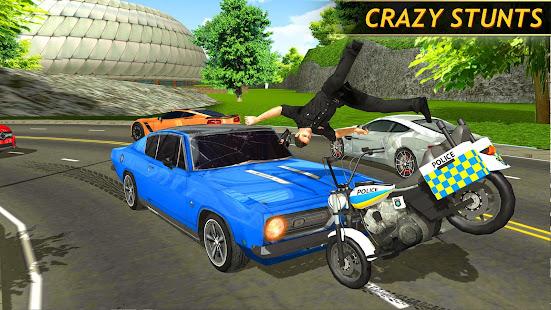 Police Bike Racing Free 2.0 screenshots 3