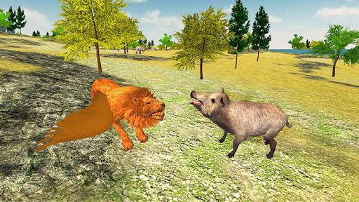 Angry Flying Lion Simulator 2021 screenshots 6