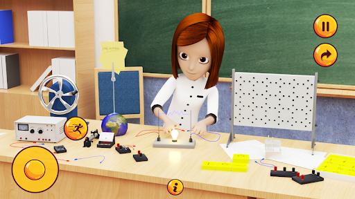 High School Girl Simulator u2013 Virtual School Life apktram screenshots 3