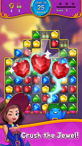 Jewel Witch - Best Funny Three Match Puzzle Game 1.8.2 screenshots 5