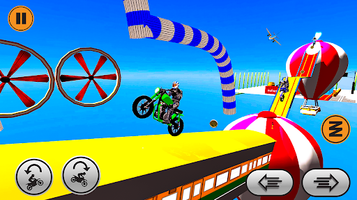 Xtreme trail: 3D Racing - Offline Dirt Bike Stunts android2mod screenshots 4