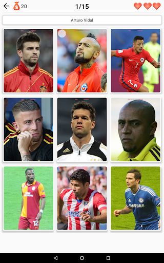 Soccer Players - Quiz about Soccer Stars! 2.99 Screenshots 16