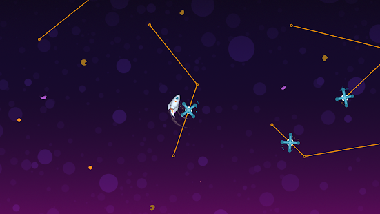 Little White Rocket - Relax & calm down in space Screenshot