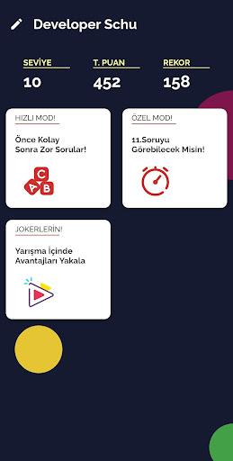 Bilgi Yarışması - Ücretsiz ve Eğlenceli 1.0.6 screenshots 1