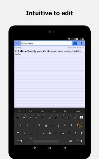ColorNote Notepad Notes 4.2.4 Screenshots 3