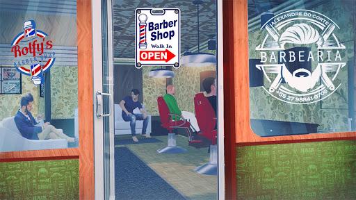 Perfect Barber shop Hair salon Game 0.4 screenshots 1