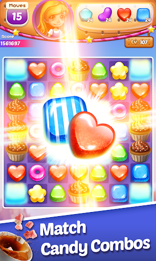 Sweet Cookie -2021 Match Puzzle Free Game  screenshots 3