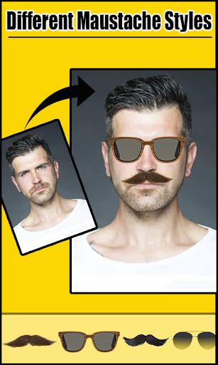 men beard and hair photo editor – mustaches screenshot 3