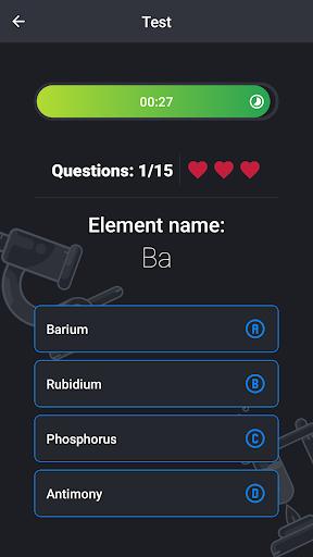Periodic Table - Game 0.3.1 screenshots 8