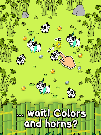Panda Evolution - Cute Bear Making Clicker Game screenshots 10