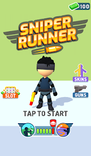 Sniper Runner Mod Apk: 3D Shooting & Sniping (Unlimited Cash) 7
