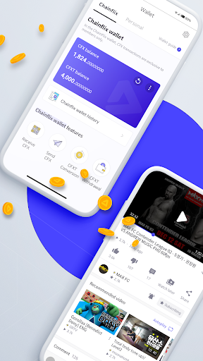 Chainflix u2013 Watch Videos & Earn Coins! android2mod screenshots 2