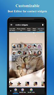 Contacts Widget MOD APK by Makeev Apps 5