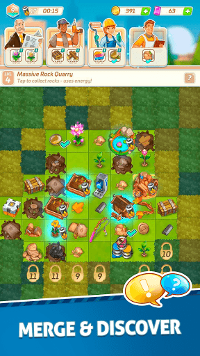 Merge Estate! Mystery Town  screenshots 2