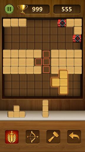Wood Block Puzzle 2021 - Wooden 3D Cube Puzzle Gem goodtube screenshots 3