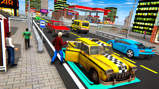 Extreme Taxi Driving Simulator - Cab Game apkdebit screenshots 4