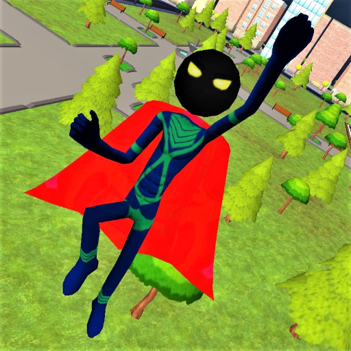 Stickman Superhero