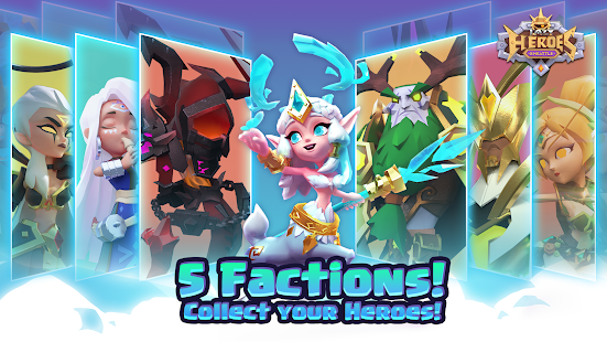 Lazy Heroes: Embattle - Strategy 3D Idle Game screenshots 2