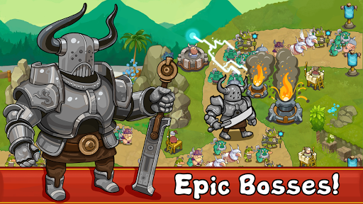 Tower Defense Realm King: (Epic TD Strategy) modavailable screenshots 2