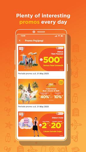 Pegipegi - Buy Hotel, Flight, Train & Bus Ticket android2mod screenshots 2