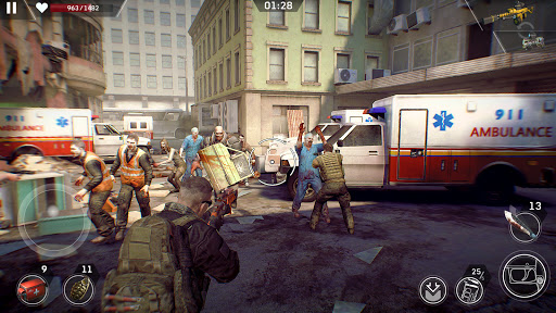 Left to Survive: Dead Zombie Shooter & Apocalypse  screenshots 1