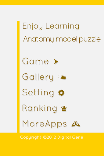 Enjoy Learning Anatomy puzzle 3.2.3 screenshots 5