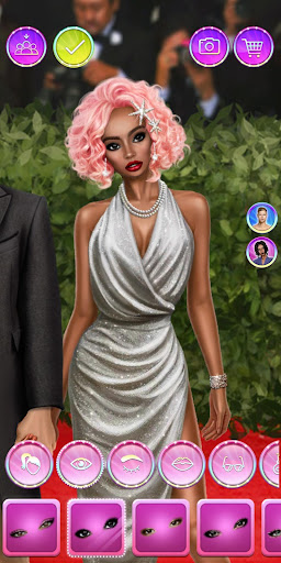 Celebrity Fashion Makeover - Dress Up Games 1.1 screenshots 5