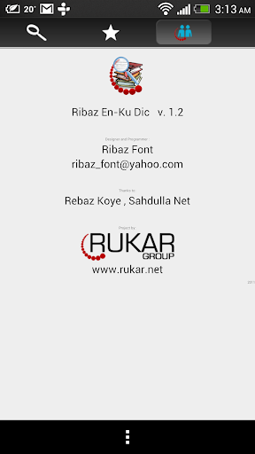 Ribaz English u2013 Kurdish Dict. Apk 1