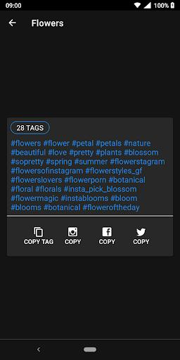 HashTags for Instagram 1.0.7.6 Screenshots 5