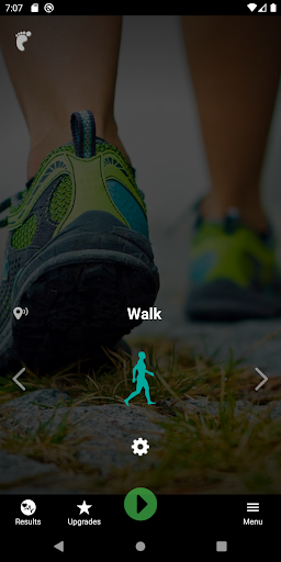 iWalker Exercise Tracking & Heart Rate Training screenshot 1