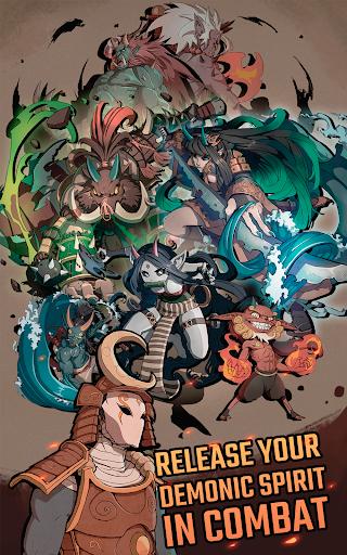 Demon Blade - Japanese Action RPG apkpoly screenshots 15