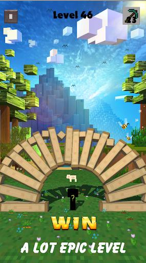 Break Block - Recuse The Pig - Puzzle Miner Game apkpoly screenshots 7