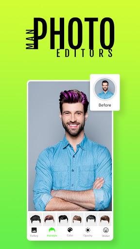 Man Photo Editor & Men HairStyle, Suits  screenshots 3