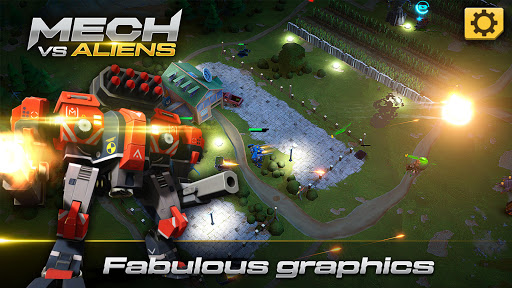 Mech vs Aliens: Top down shooter   RPG  screenshots 5