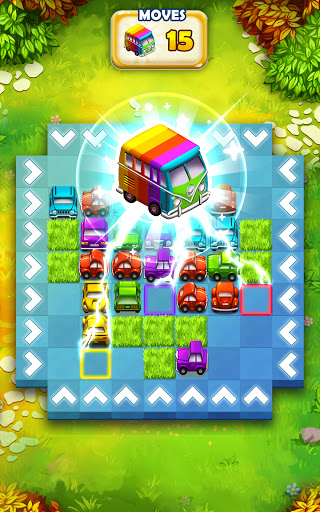 Traffic Puzzle - Match 3 & Car Puzzle Game 2021 android2mod screenshots 17
