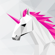 UNICORN Low Poly | Puzzle Art Game | Polygonal Art