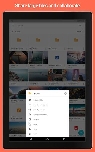 pCloud: Free Cloud Storage 3.2.0 Screenshots 8