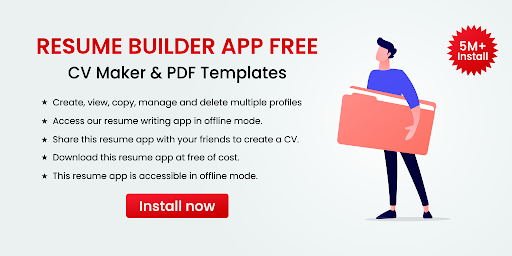 Resume Builder App Free CV Maker & PDF Templates 7.5 Screenshots 7