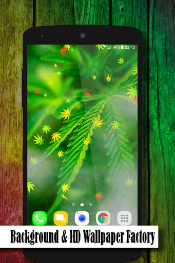 marijuana live wallpaper screenshot 2