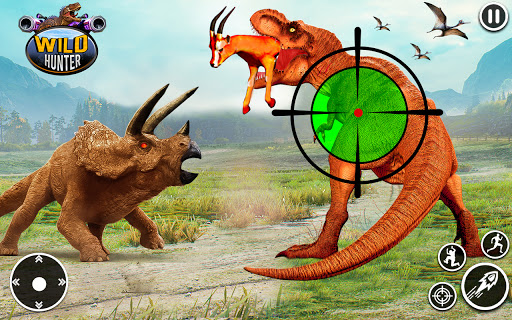 Wild Dinosaur Hunting Games  screenshots 1